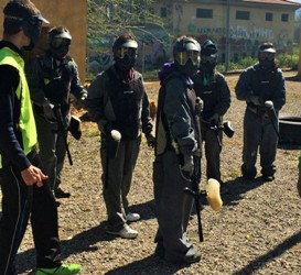 paintball en granada despedidas solteros